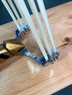 Металлическая рогатка для рыбалки и охоты DEXT Gold Pro 2.0 Максимальный набор с локтевым упором для Боуфишинга Bowfishing - изображение 6