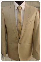 Чоловічий костюм West-Fashion 527 бежевий 50,188 - зображення 3
