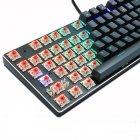 Игровая механическая проводная клавиатура ZUOYA Х61 с подсветкой RGB 87 клавиш Русский/Английский Синие переключатели (sv0264) - изображение 5