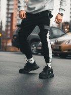 Cпортивные штаны Пушка Огонь Wline черные XS - изображение 3
