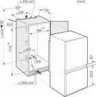 Вбудований холодильник Miele KF 37122 iD - зображення 3