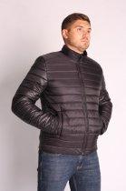 Куртка ZIBSTUDIO полоса комбинированная 6XL Чёрная (6157374) - изображение 6