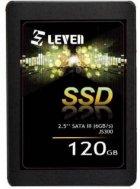 "Накопичувач SSD 120Gb Leven JS300, SATA3, 2.5"", 3D TLC, 560/370 MB/s (JS300SSD120GB) - зображення 1"