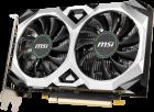 MSI PCI-Ex GeForce GTX 1650 D6 Ventus XS OCV2 4GB GDDR6 (128bit) (1620/12000) (DisplayPort, HDMI, DVI) (GTX 1650 D6 VENTUS XS OCV2) - изображение 2