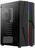 Корпус Aerocool Mecha Black Mid Tower RGB Glass side panel (Mecha-G-BK-v1) - изображение 3