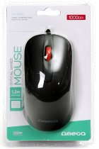 Мышь Omega OM-520 USB Black (OM0520B) - изображение 5