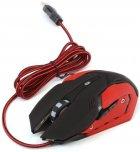 Миша VARR MPX2 USB з ігровою поверхнею Black-Red (VSETMPX2) - зображення 2