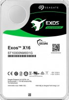 "Жорсткий диск Seagate Exos X16 HDD 10 TB 7200 rpm 256 MB ST10000NM001G 3.5"" SATA III - зображення 1"