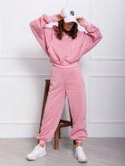 Спортивний костюм ISSA PLUS 12350 L Рожевий (issa2000686049131) - зображення 1