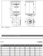 Бойлер BOSCH Tronic 2000T 150B - изображение 2