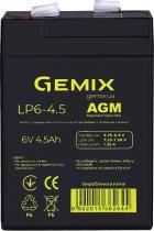 Аккумуляторная батарея Gemix LP6-4.5 (LP645) - изображение 1