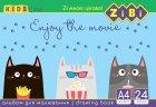 Набор альбомов для рисования ZiBi 12 шт по 24 листа (ZB.1424) - изображение 3