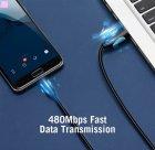 Кабель Vention USB-A 2.0 - microUSB B, 1 м Black (VAS-A04-B100-N) (59625022) - изображение 11