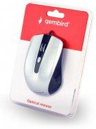 Мышь Gembird MUS-4B-01-BS USB Black-Grey - изображение 3