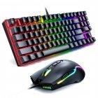 Игровой комплект для ПК 2 в 1 (клавиатура, мышь) Onikuma G26 + CW905 с подсветкой Black - зображення 7