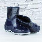 Полусапожки ботинки резиновые W-shoes 111-b утепленные непромокаемые синие 40р (25,5 см) b-608 - изображение 6
