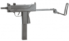 Пневматичний пістолет KWC Mini Uzi KM-55 HN Міні Узд пластик газобалонний CO2 120 м/с - зображення 2