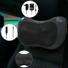 Массажная роликовая подушка инфракрасный массажер для спины и шеи Zabobon (Premium) - изображение 8