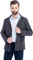 Мужской кардиган-пиджак SVTR 392 48 Темно-серый (SVTR 392_2) - изображение 1