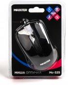 Миша Maxxter Mc-325 USB Black - зображення 4