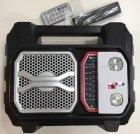 Аккумуляторный портативный радиоприемник Golon RX-2018BT Радио с пультом ДУ Черный - изображение 1