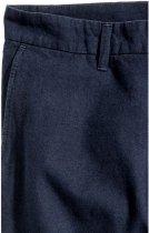 Штани H&M 4hm044400389 30 Темно-сині (SHEK2000000274577) - зображення 4