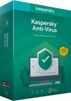 Kaspersky Anti-Virus 2020 первоначальная установка на 1 год для 1 ПК (DVD-Box, коробочная версия) - изображение 1