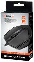 Миша Real-El RM-410 Silent USB Black (EL123200025) - зображення 6