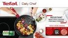 Сковорода для млинців Tefal Daily Chef 25 см Червона (G2733872) - зображення 7