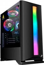 Корпус 1STPLAYER Rainbow R6-R1 Color LED Black - зображення 1