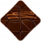 Шоколад Spell Dark Chocolate with Chocolate Caramel 100 г (2187160871607_4820207310834) - изображение 3