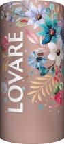 Бленд черного и зеленого чая с клубникой и лепестками цветов Lovare Брызги шампанского 80 г (4820097815556) - изображение 3