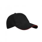 Кепка Blake, колір чорно-червоний. TM Floyd - изображение 1