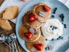 Сет смесей для выпечки панкейков: ваниль, корица, шоколад. Без сахара и без глютена, 845 г, Ginger and White - изображение 5