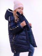 Куртка подовжена LUXIK синій k40 128 см Синий (000644012) - изображение 1