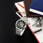 Часы наручные Forsining 1040 Silver-Black - изображение 6