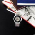 Часы наручные Forsining 1040 Silver-Black - изображение 7