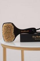 Масажна щітка антицелюлітна для сухого масажу з бука і щетини кабана від BlackTouch Dry Brush(1шт/уп) - зображення 3