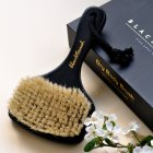 Масажна щітка антицелюлітна для сухого масажу з бука і щетини кабана від BlackTouch Dry Brush(1шт/уп) - зображення 8
