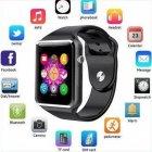Розумні Годинник Smart Watch А1 Pro на Android з Bluetooth microSD крокомір камера Turbo Black GSO 305-648 - зображення 2
