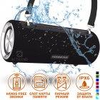 Портативная Колонка Hopestar H39 (Black) музыкальная Беспроводная с PowerBank и аккумулятором - акустическая блютуз система с басом FM micro SD - изображение 1