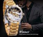 Механічний годинник Winner Diamonds (gold) - зображення 8