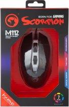 Мышь Marvo M112 USB Black (M112) - изображение 5