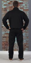 Спортивный костюм теплый батник со стойкой 50 Черный (507) - изображение 3