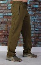 Спортивные трикотажные брюки Tailer 52 Хаки (298) - изображение 3
