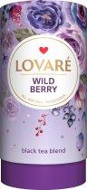 Чай чорний цейлонський листовий з ягодами і пелюстками квітів Lovare Дикі ягоди 80 г (4820198871277) - зображення 1