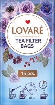 Чай чорний цейлонський листовий з ягодами і пелюстками квітів Lovare Дикі ягоди 80 г (4820198871277) - зображення 5