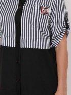 Платье-рубашка VLAVI Лана 1229001 58 Черное - изображение 4
