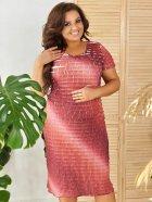 Платье ALDEM 1630 50 Коралловое (2000000441856_ELF) - изображение 1