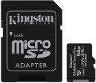 Kingston microSDXC 64GB Canvas Select Plus Class 10 UHS-I U1 V10 A1 + SD-адаптер (SDCS2/64GB) - зображення 1
